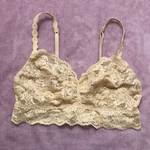 Cosabella lace bralette size medium